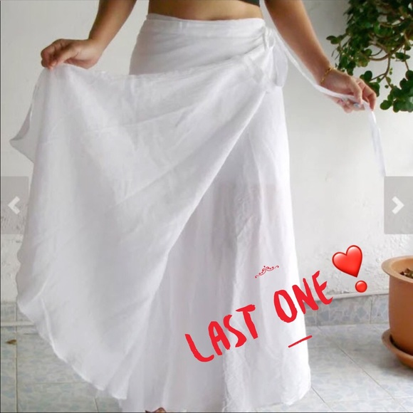 3a2eb6477b8a3 Swim | Cotton Summer Sun Floaty Beach Wrap Skirt Sarong | Poshmark
